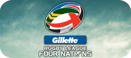 Gillete Four Nations International Rugby League